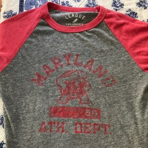 Maryland Baseball tee